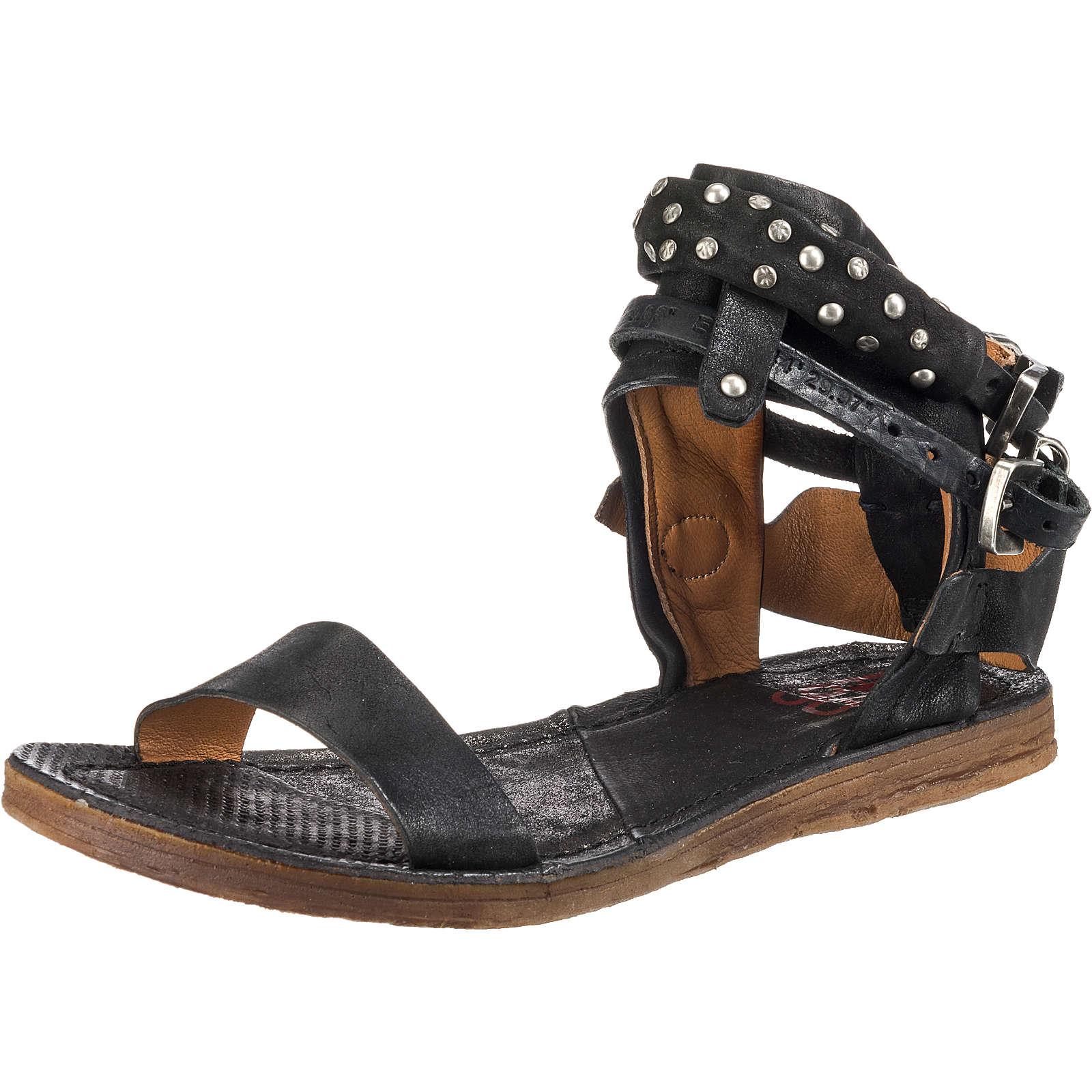 A.S.98 Klassische Sandalen schwarz Damen Gr. 40