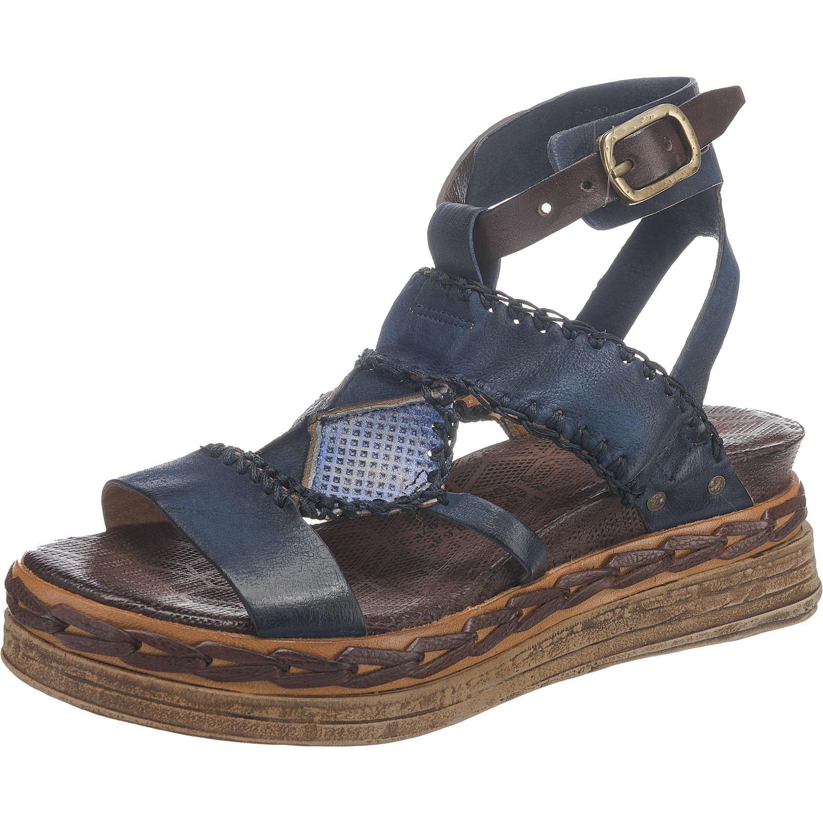 A.S.98 Klassische Sandaletten dunkelblau Damen Gr. 36