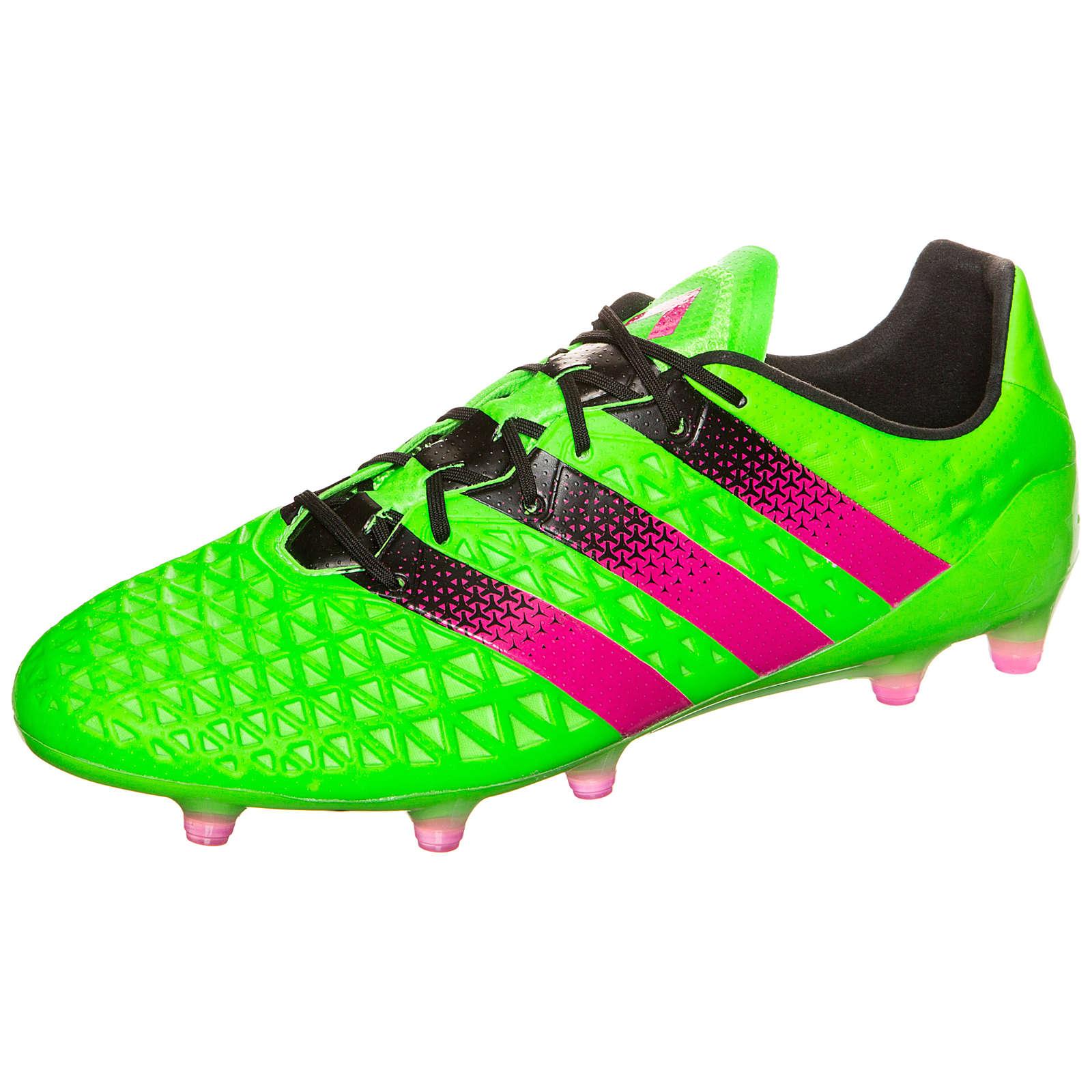 adidas Performance adidas ACE 16.1 FG/AG Fußballschuh grün Herren Gr. 42