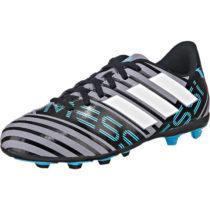 adidas Performance Fußballschuhe NEMEZIZ MESSI 17.4 FxG J für Jungen grau Junge Gr. 28