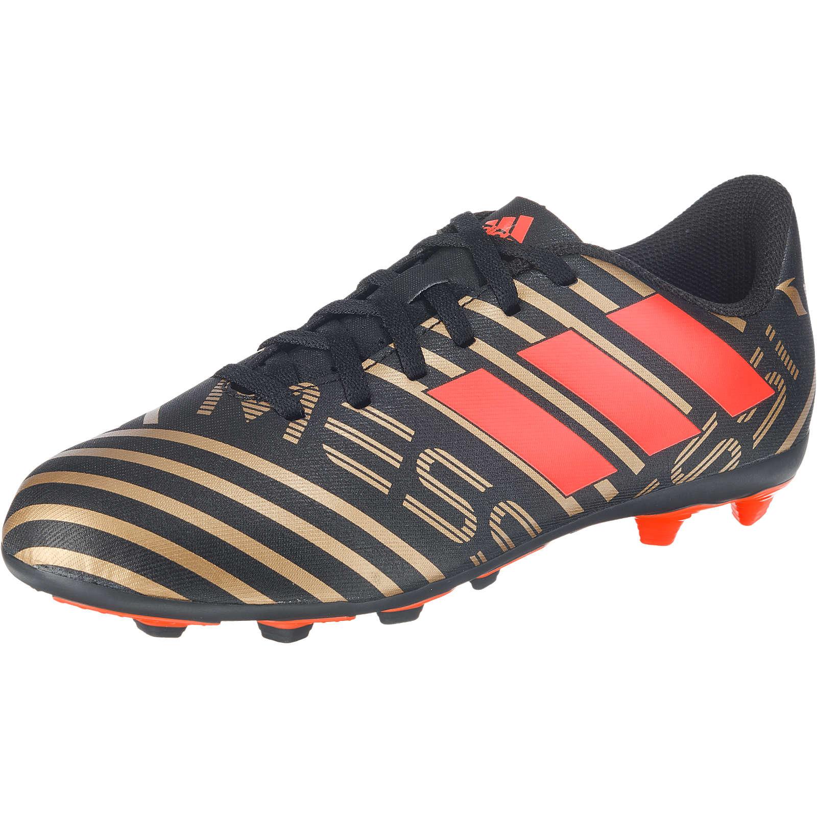 adidas Performance Fußballschuhe NEMEZIZ MESSI 17.4 FxG J für Jungen schwarz Junge Gr. 38