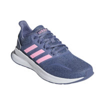 adidas Performance Sneakers RUNFALCON K für Mädchen grau/lila Mädchen Gr. 35