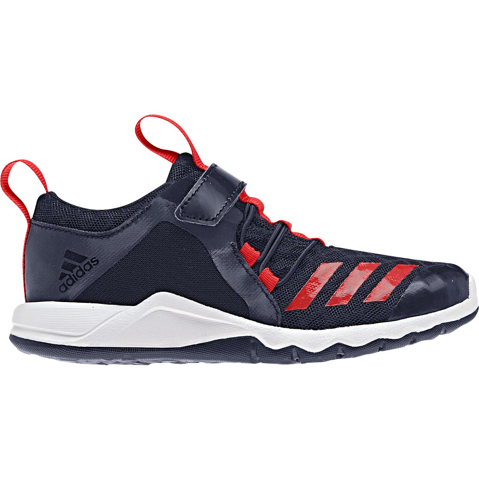 adidas Performance Sportschuhe RAPIDA FLEX EL K für Jungen dunkelblau Junge Gr. 38