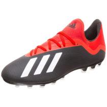adidas Performance X 18.3 AG Fußballschuh Herren schwarz/rot Herren Gr. 42