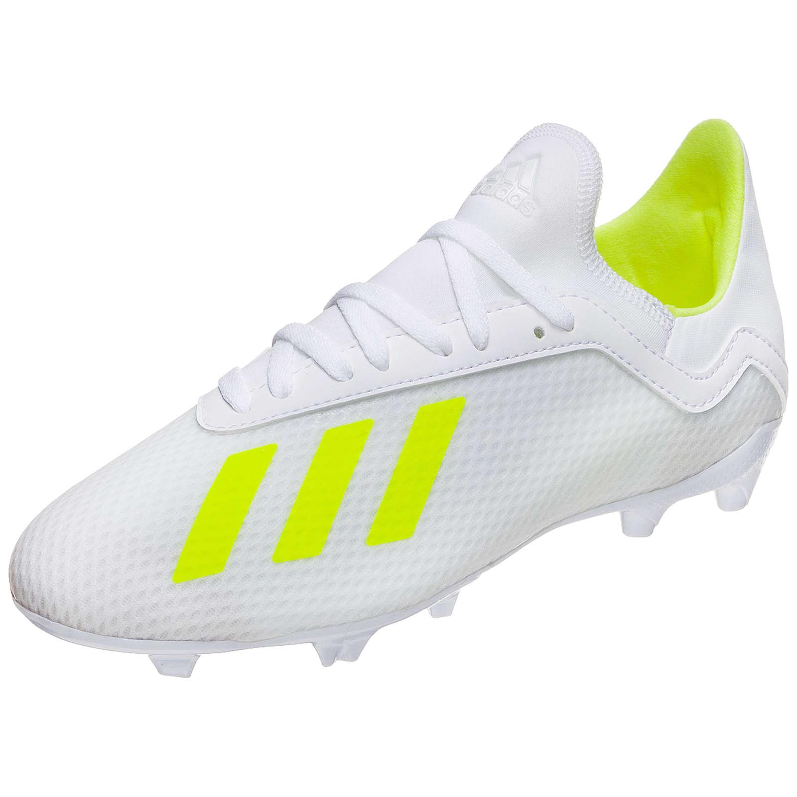 adidas Performance X 18.3 FG Fußballschuh Kinder weiß Gr. 32