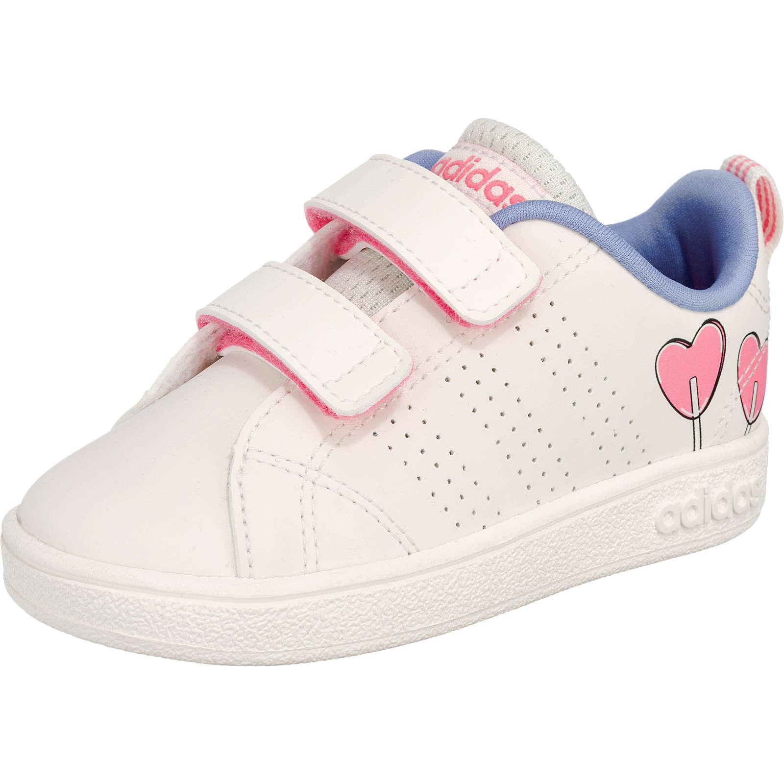 adidas Sport Inspired Baby Sneaker VS ADV CL CMF INF für Mädchen creme Mädchen Gr. 25