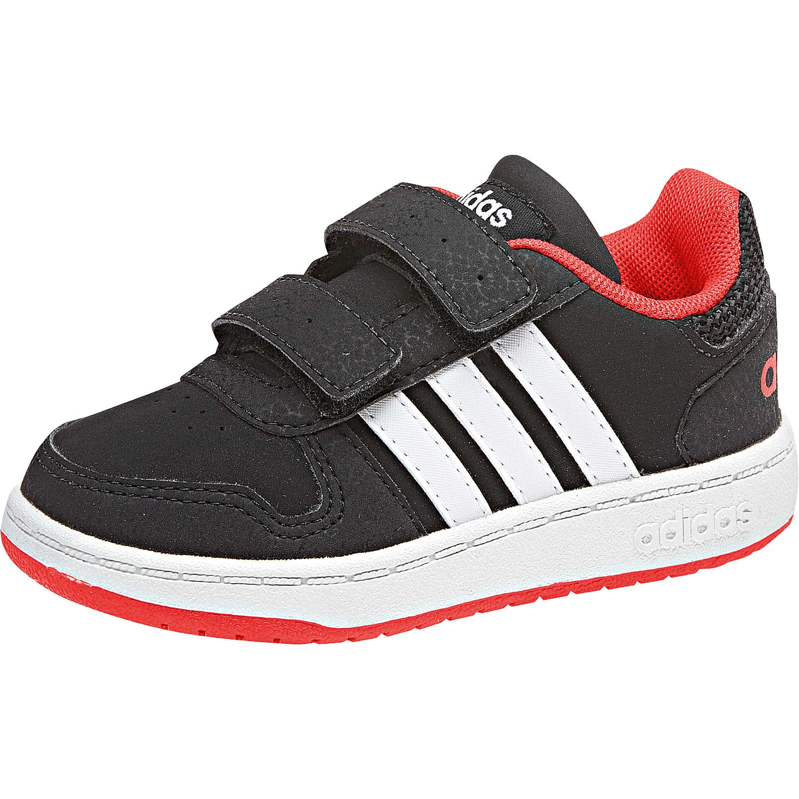 adidas Sport Inspired Baby Sneakers HOOPS 2.0 CMF schwarz Gr. 27