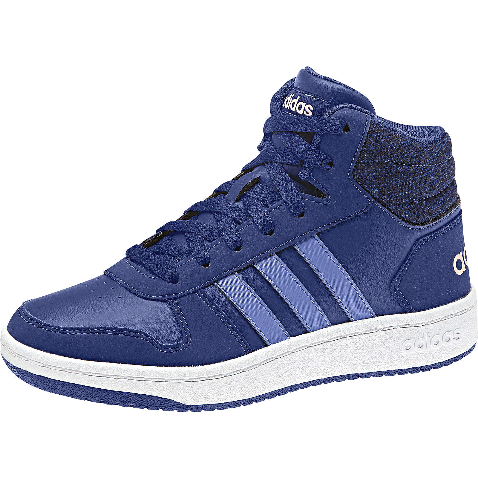 adidas Sport Inspired Kinder Sneakers High HOOPS MID 2.0 blau Gr. 32