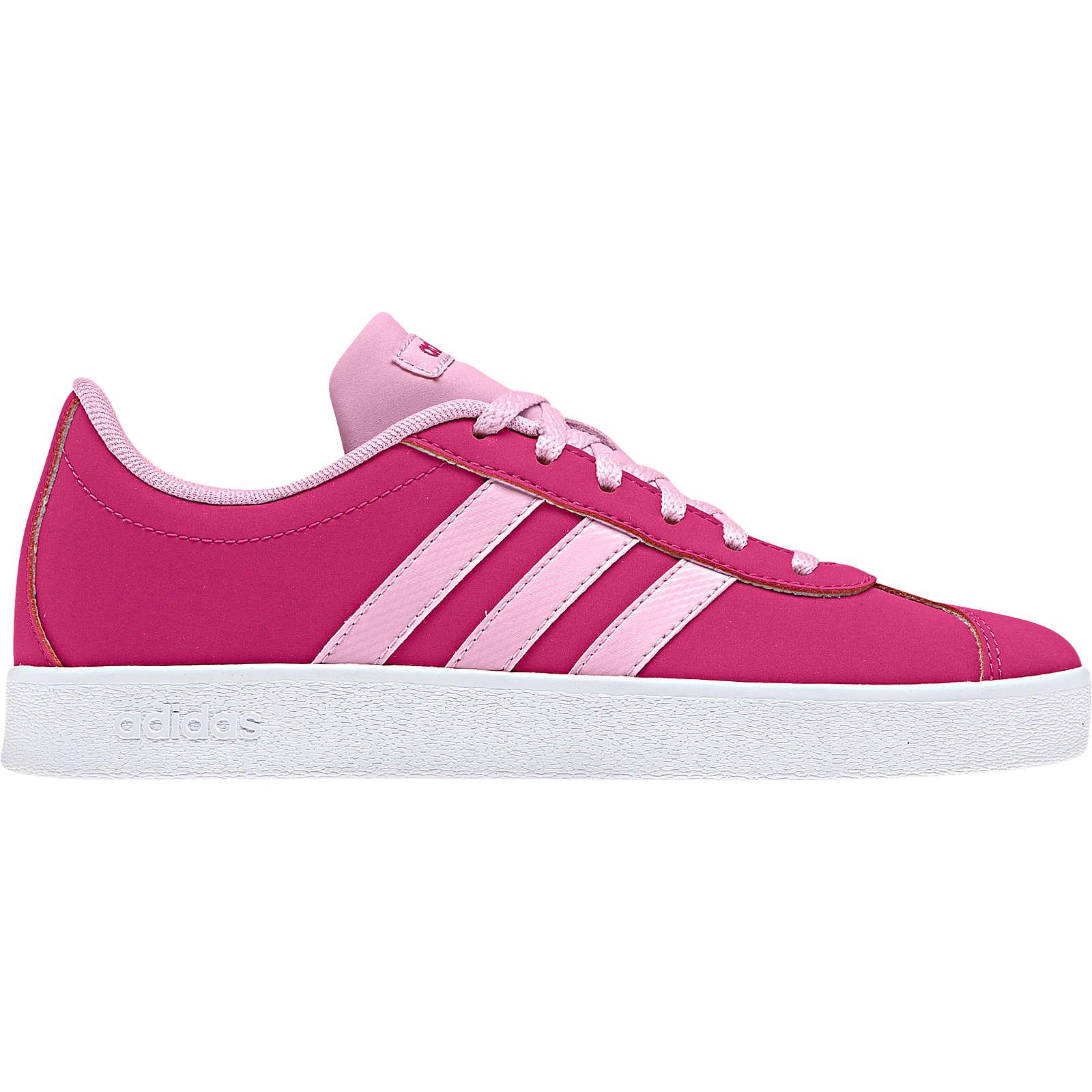adidas Sport Inspired Kinder Sneakers VL COURT 2.0 K für Mädchen pink Mädchen Gr. 35,5