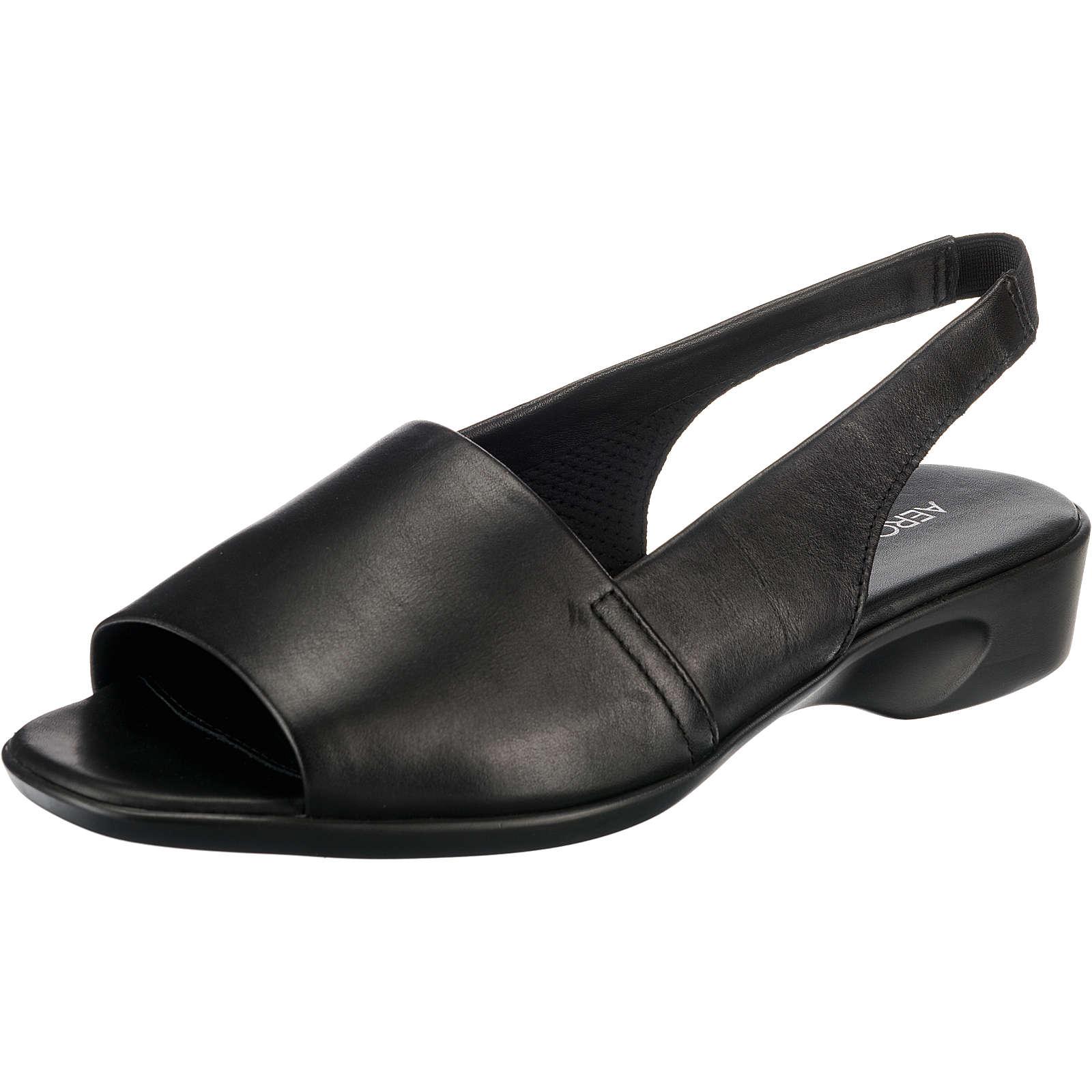 Aerosoles Cush Flow Vanity Klassische Sandalen schwarz Damen Gr. 39