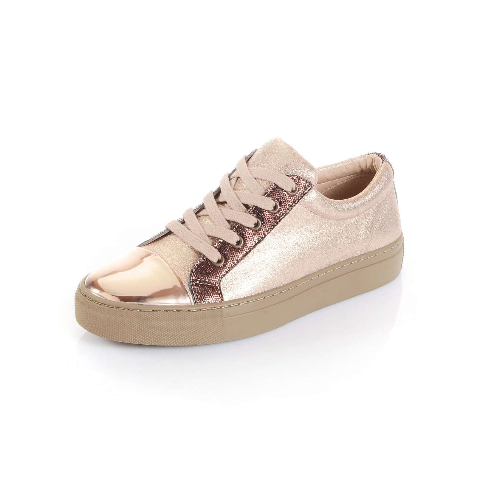 Alba Moda Sneakers Low rosegold Damen Gr. 37