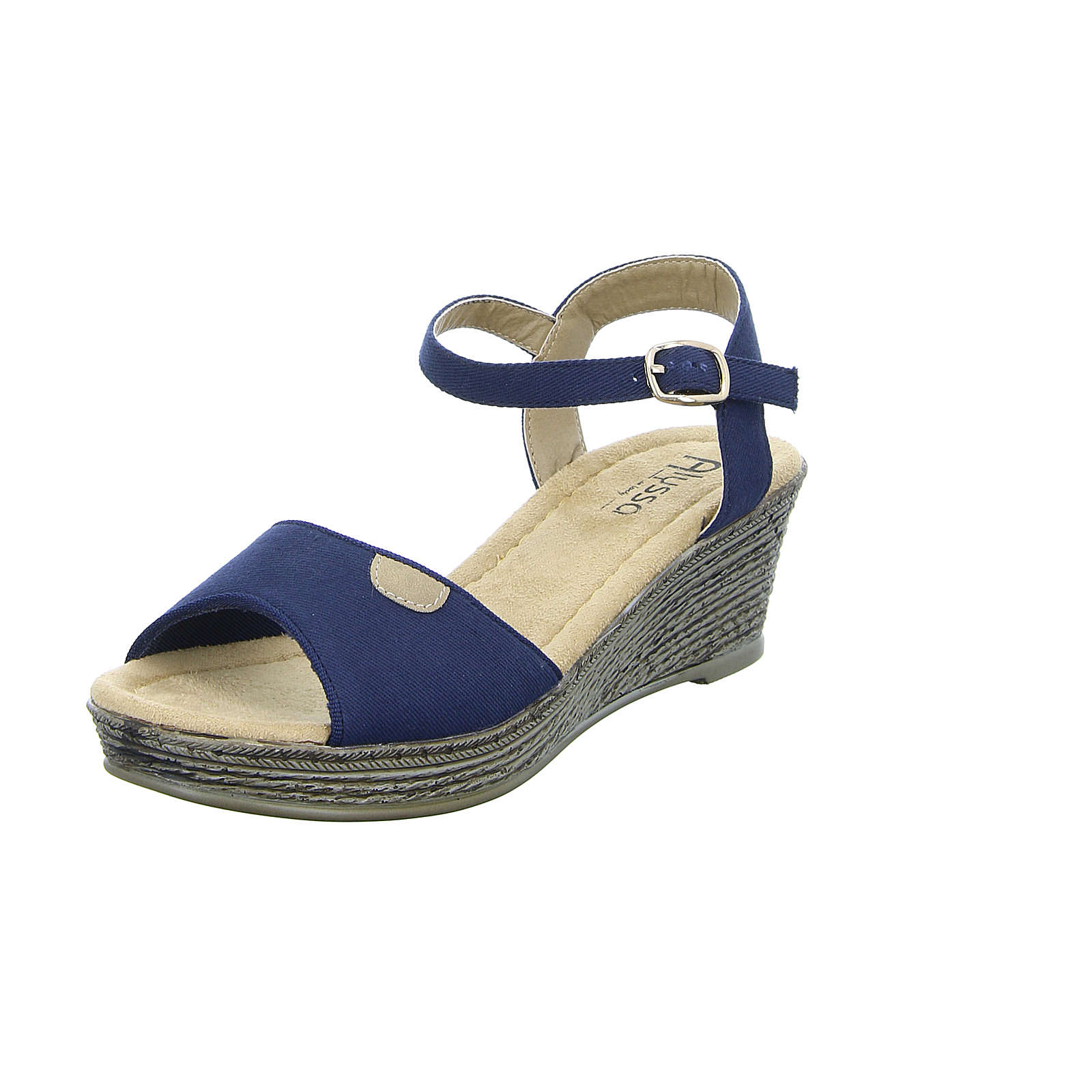 Alyssa Damen Sandalette A687-83 blau Damen Gr. 41