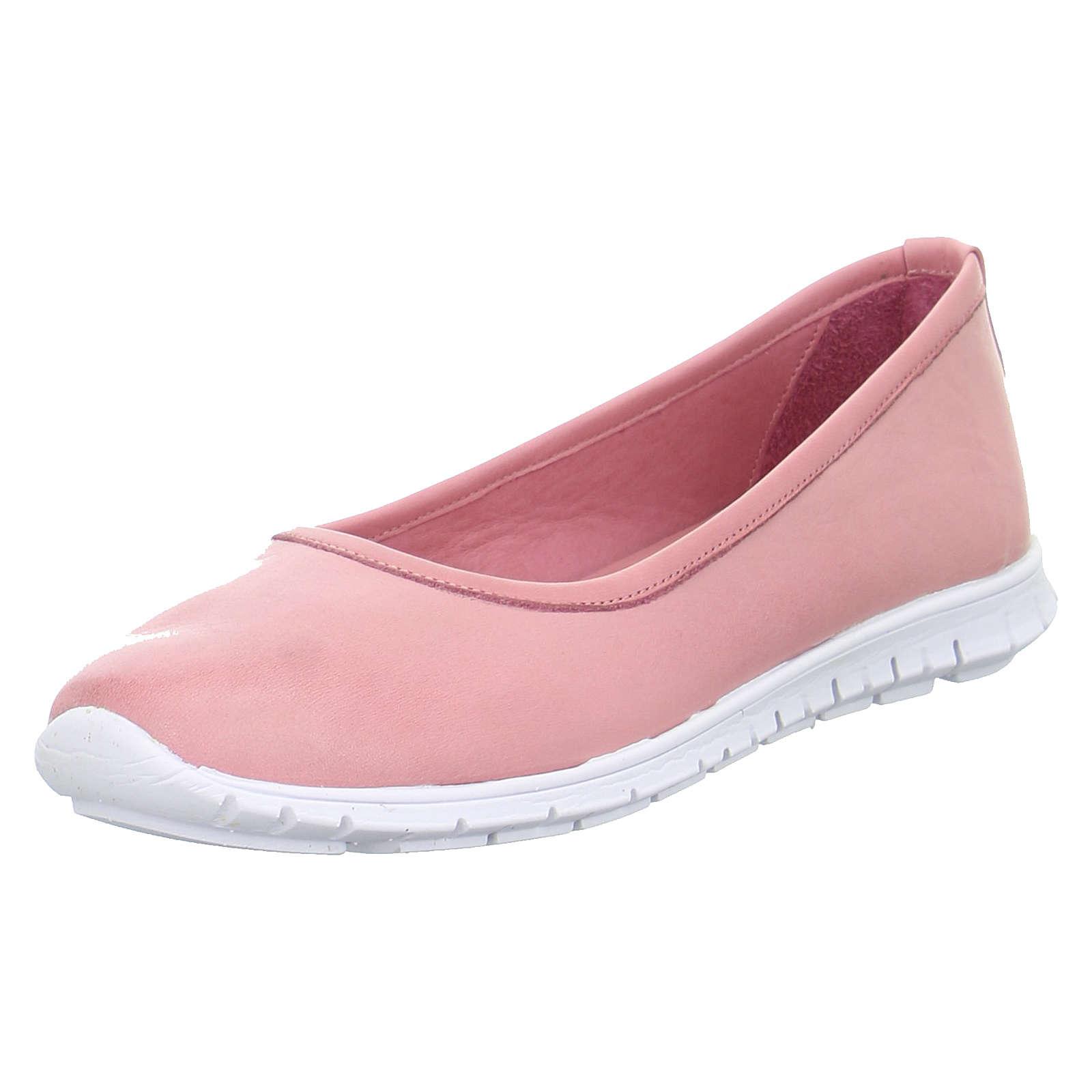 Andrea Conti Ballerinas 0027962 Klassische Slipper rosa Damen Gr. 38