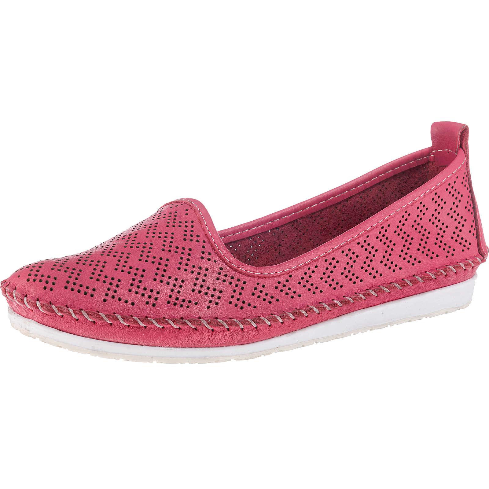 Andrea Conti Klassische Slipper pink Damen Gr. 39