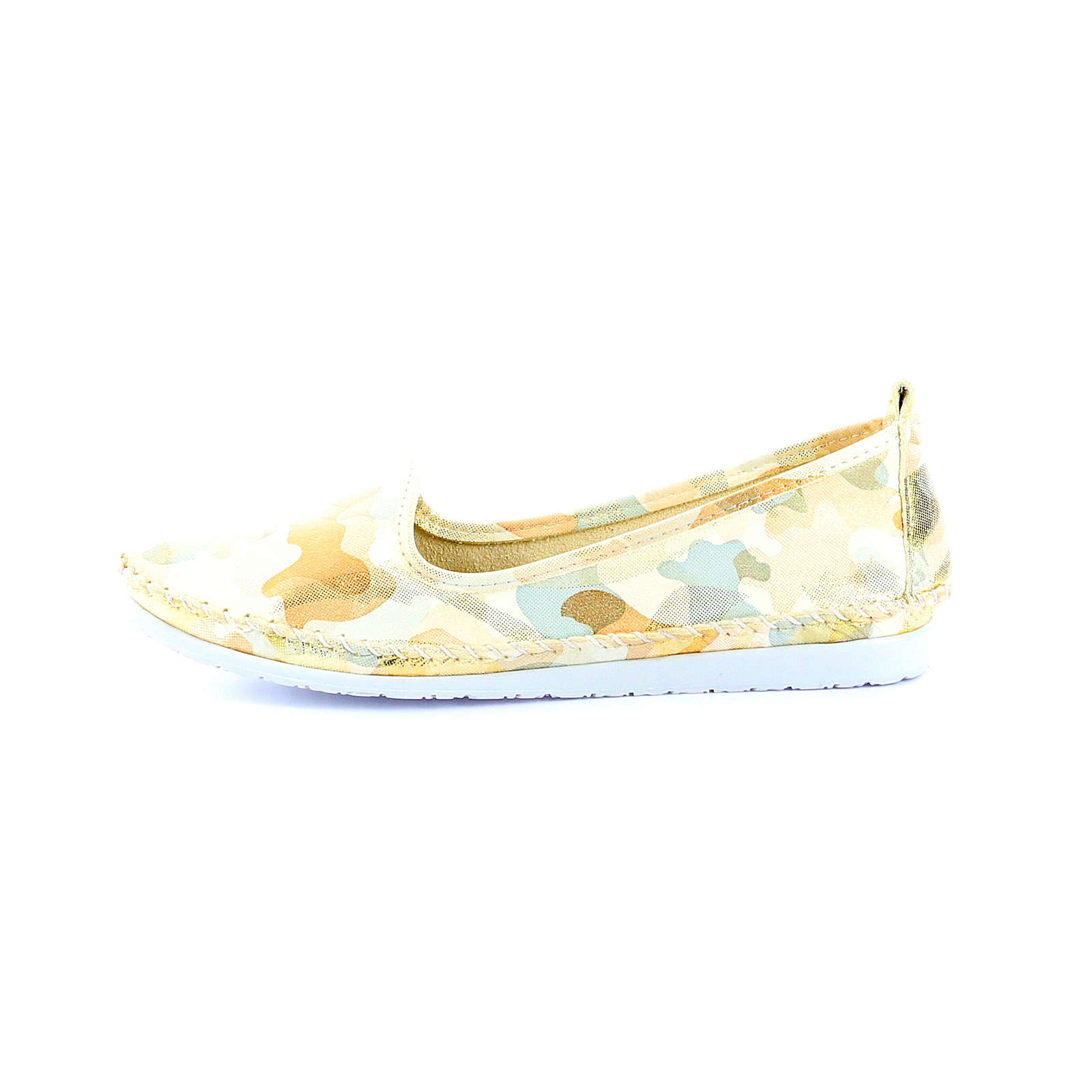 Andrea Conti Slipper 0025789 Klassische Slipper beige Damen Gr. 37