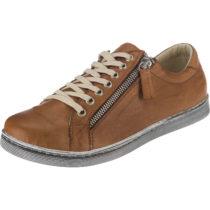 Andrea Conti Sneakers Low cognac Damen Gr. 39
