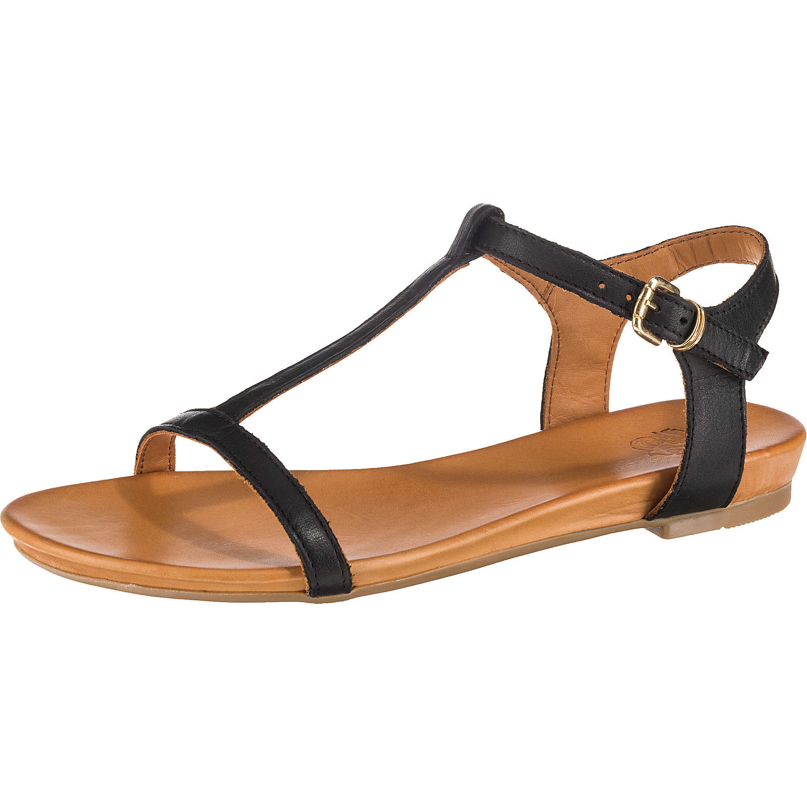 Apple of Eden Dora T-Steg-Sandalen schwarz Damen Gr. 38
