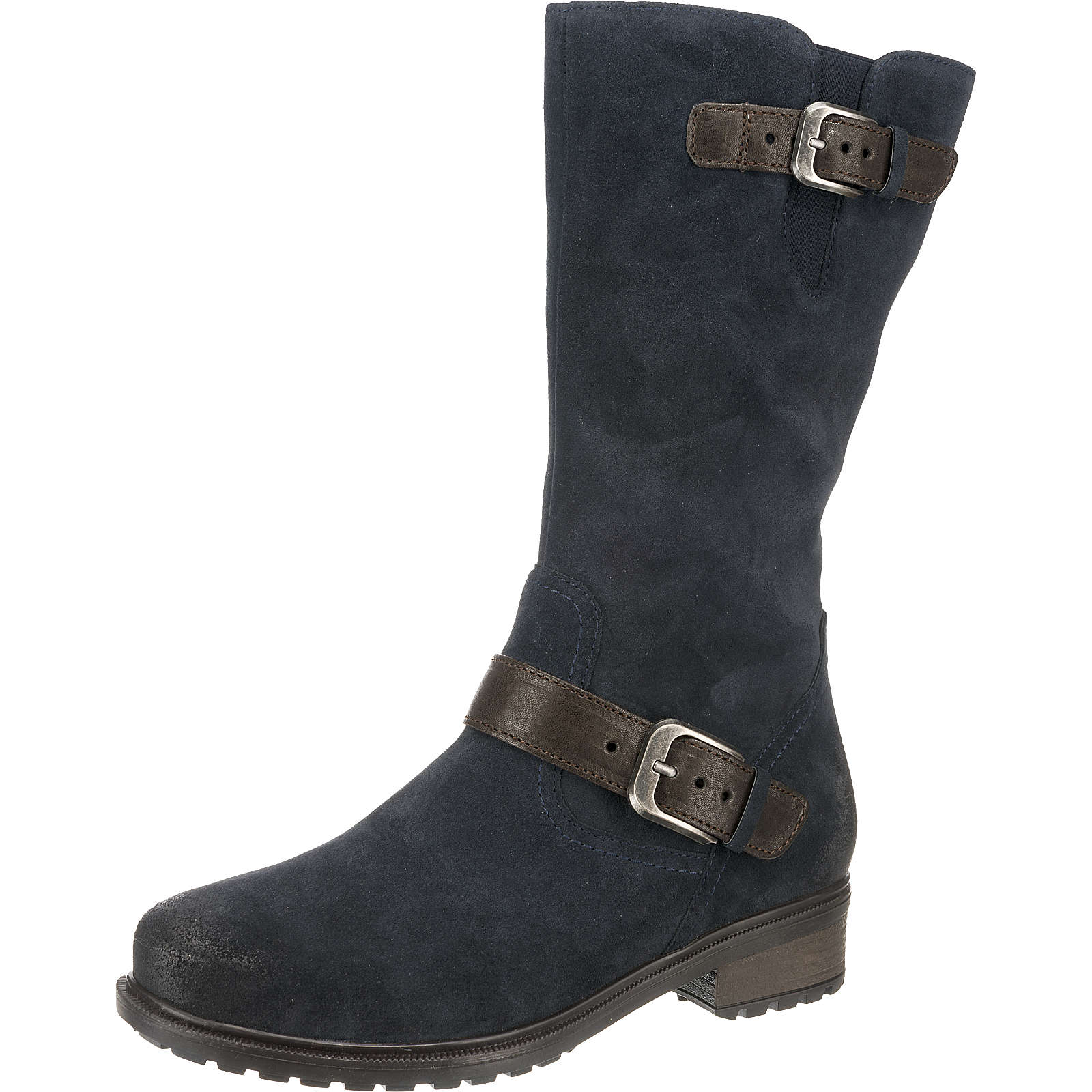 ara KANSAS Klassische Stiefel blau Damen Gr. 36,5