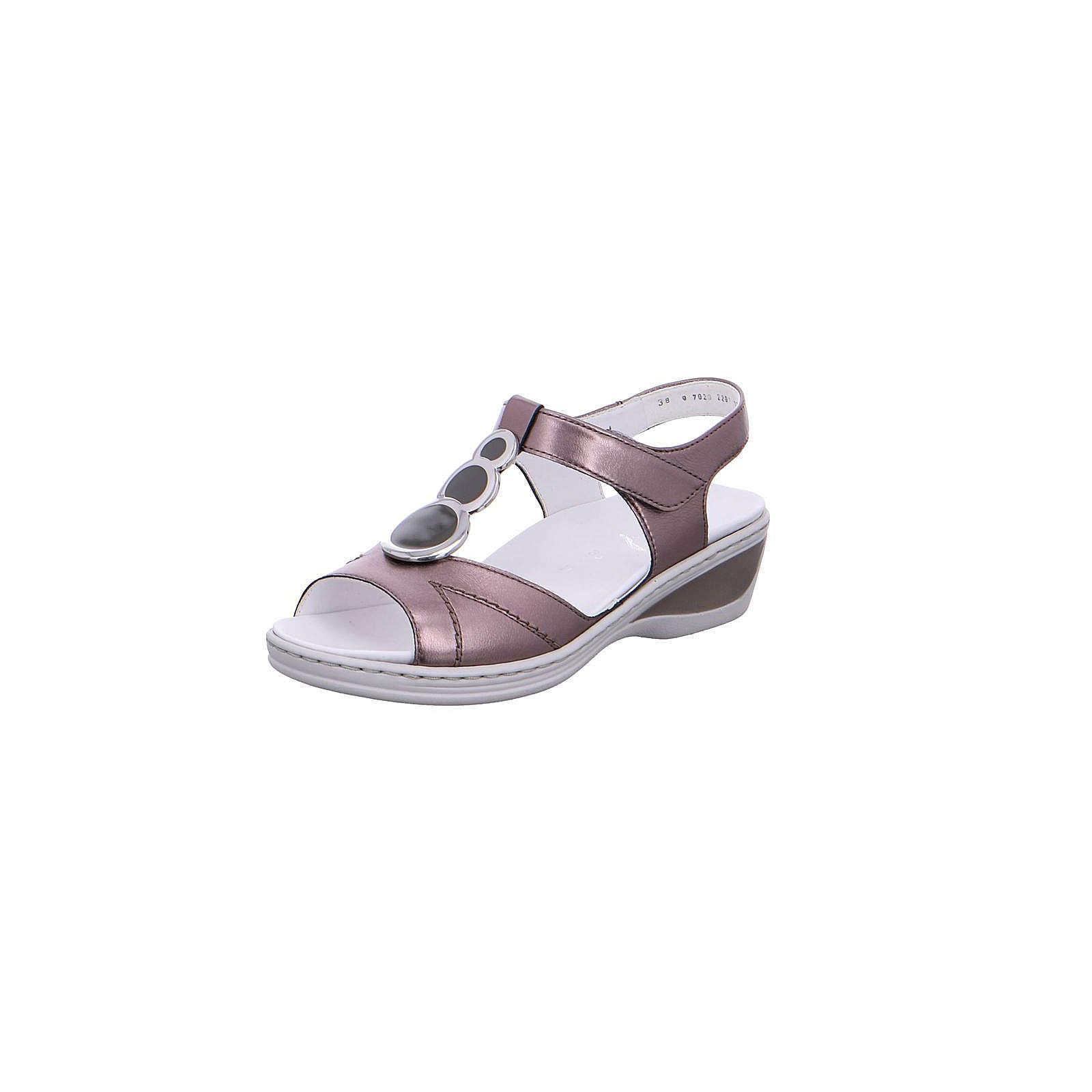 ara Klassische Sandaletten lila Damen Gr. 35