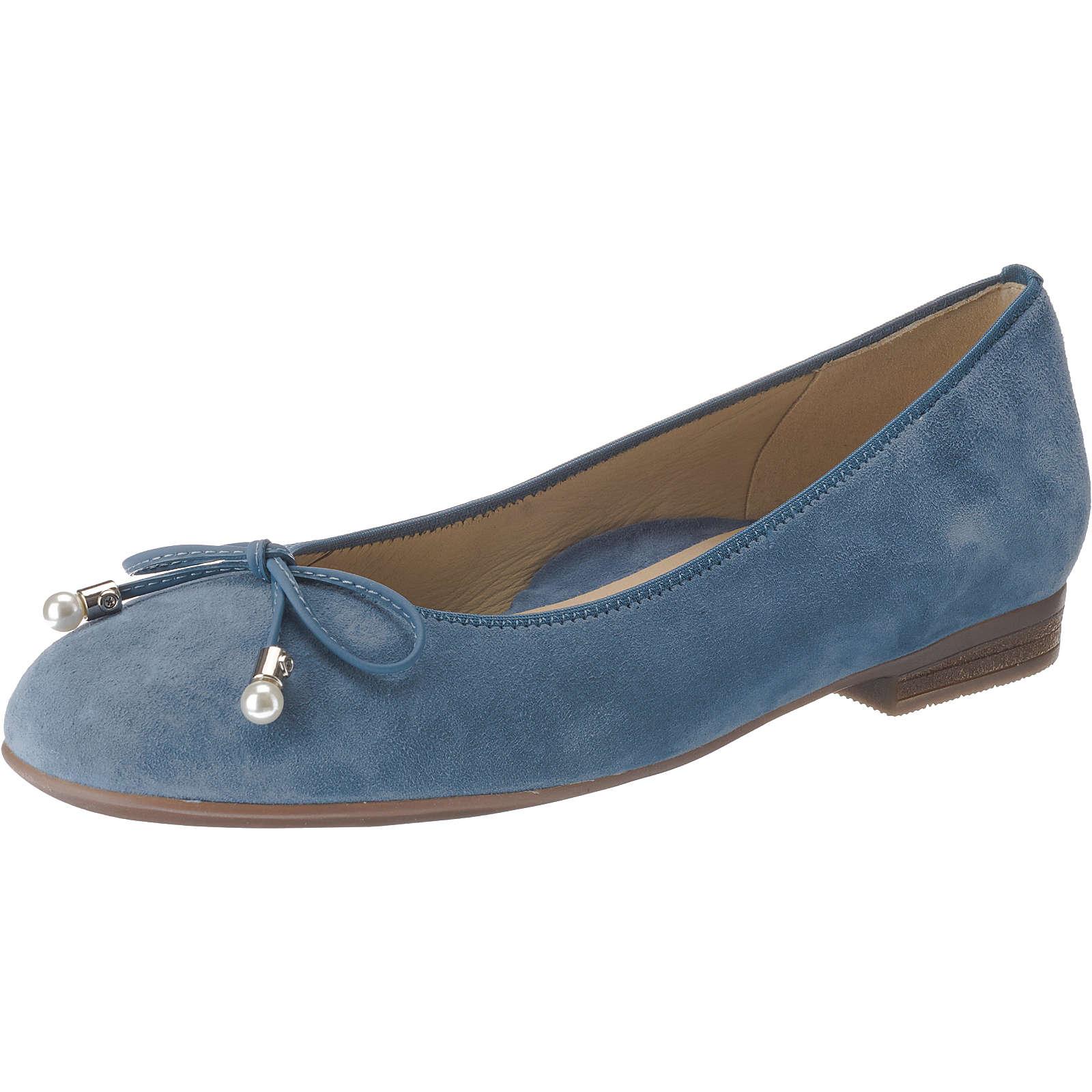 ara SARDINIA Klassische Ballerinas hellblau Damen Gr. 42