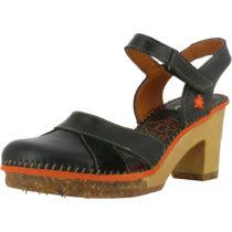 *art 0313 Memphis Black/ Amsterdam Klassische Sandaletten schwarz Damen Gr. 36