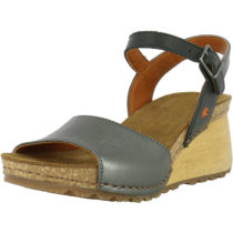 *art 1321S Metalic Antracita/ Borne Klassische Sandaletten silber-kombi Damen Gr. 36