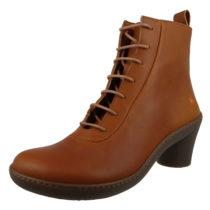 *art Leder Stiefelette Ankle Boot Alfma Cuero Braun 1444 Schnürstiefeletten braun Damen Gr. 40
