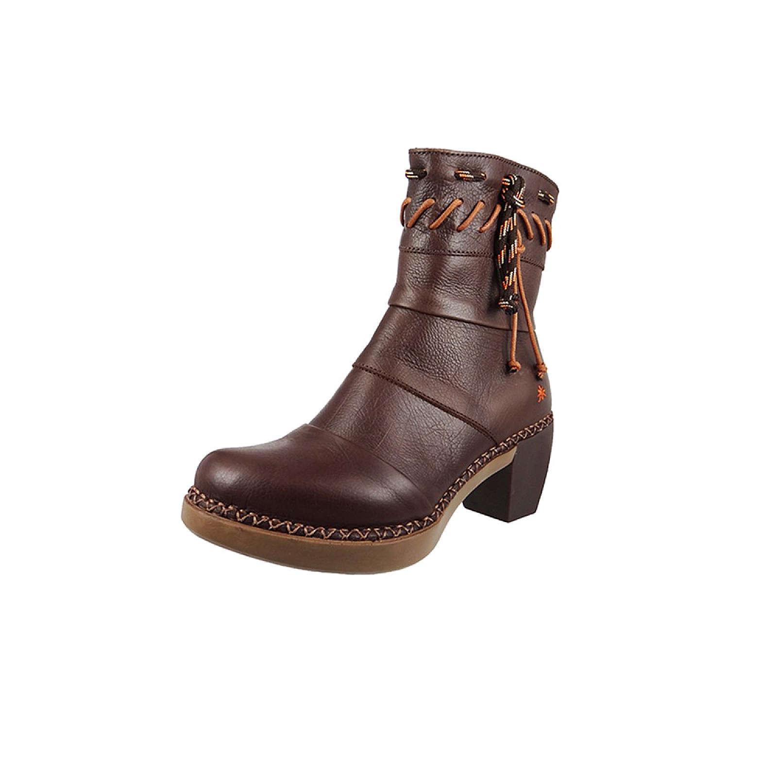 *art Leder Stiefelette Ankle Boot Madrid Brown Braun 1153 Klassische Stiefeletten braun Damen Gr. 39