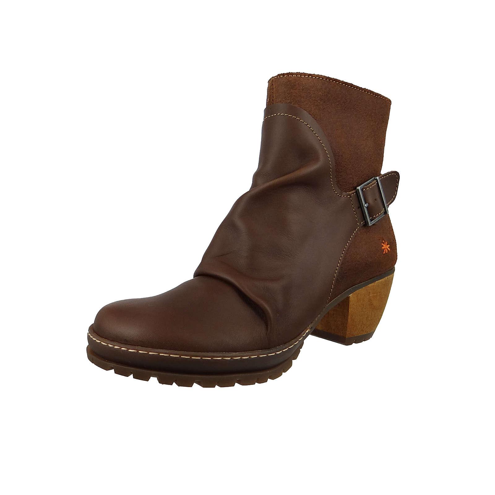 *art Leder Stiefelette Ankle Boot Oslo Braun 0516 Brown Adobe Klassische Stiefeletten braun Damen Gr. 37