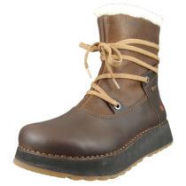 *art Leder Stiefelette Gefüttert Ankle Boot Heathrow 1024 Brown Adobe Braun Schnürstiefeletten braun Damen Gr. 40