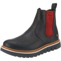 *art Toronto Chelsea Boots schwarz/rot Damen Gr. 37