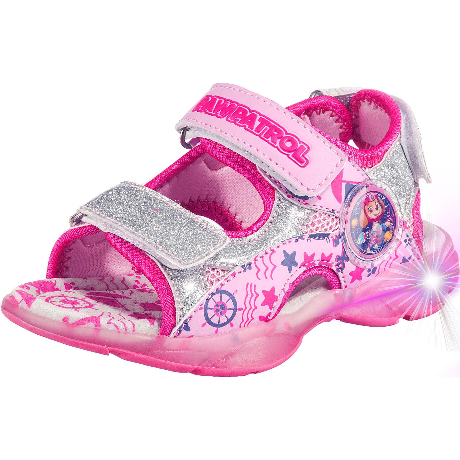 Baby Sandalen PAW Patrol für Mädchen rosa Mädchen Gr. 23