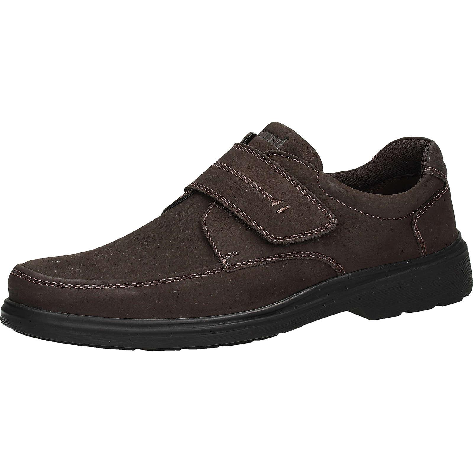 bama Halbschuhe Sneakers Low dunkelbraun Herren Gr. 41