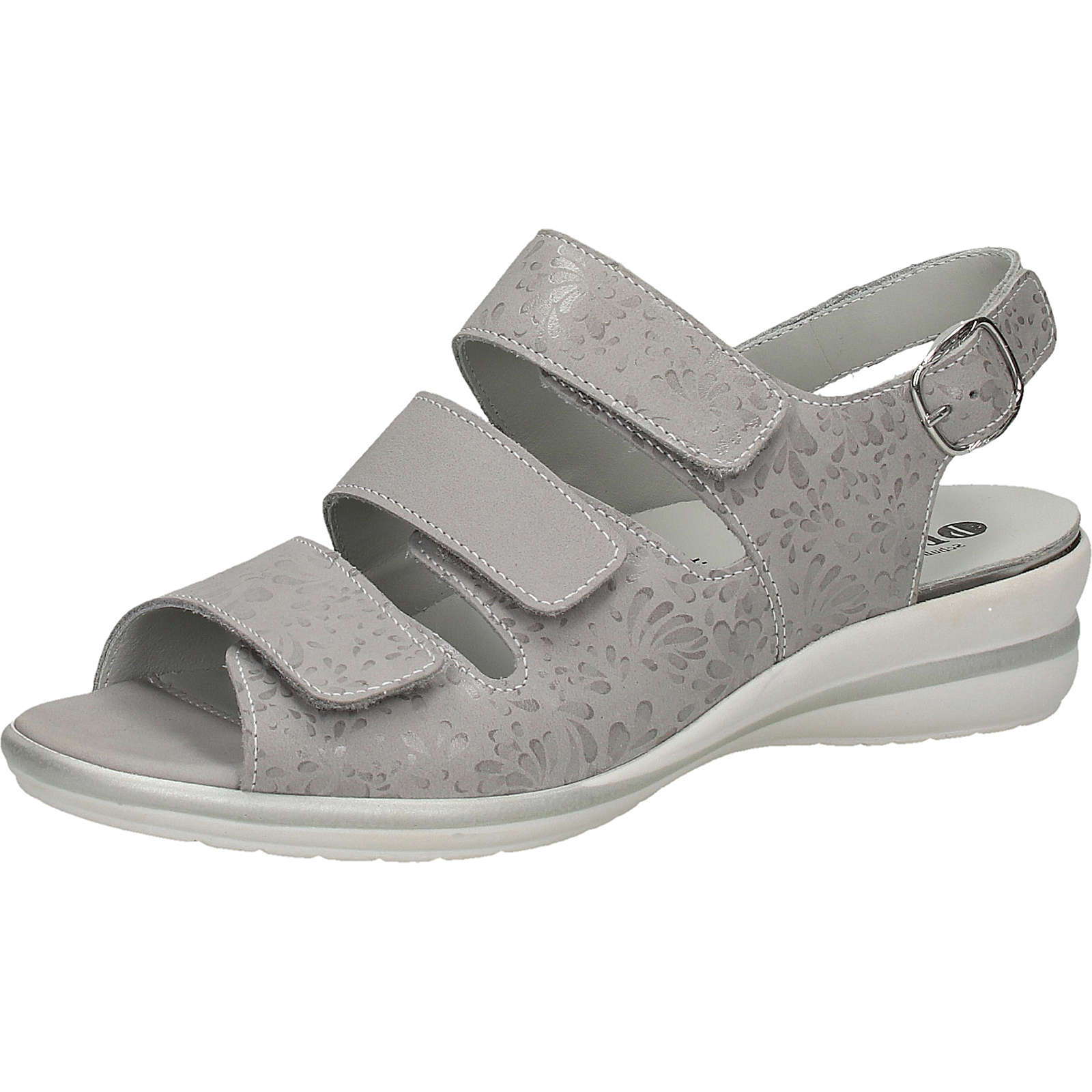 bama Sandalen Klassische Sandalen grau Damen Gr. 41