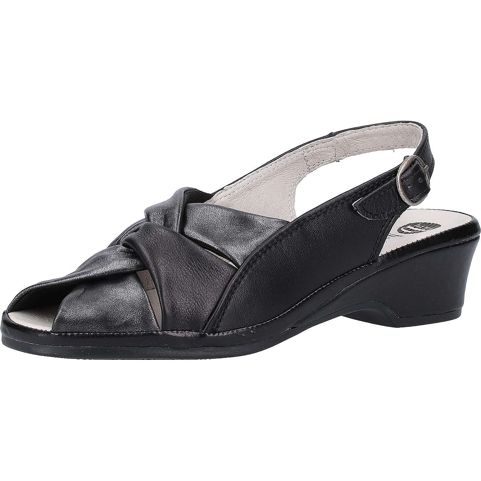 bama Sandalen Klassische Sandaletten schwarz Damen Gr. 37