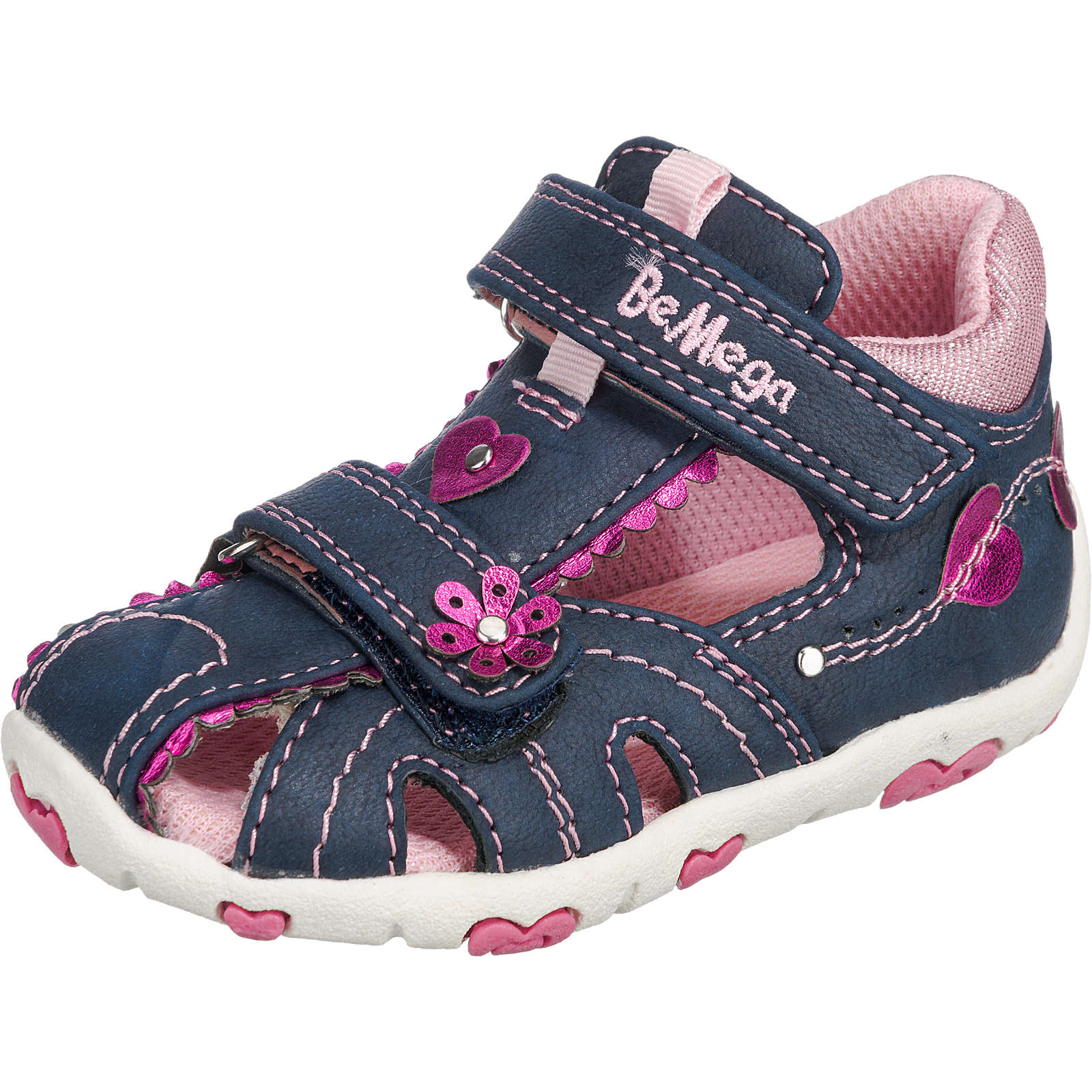 Be Mega Baby Sandalen für Mädchen blau Mädchen Gr. 24
