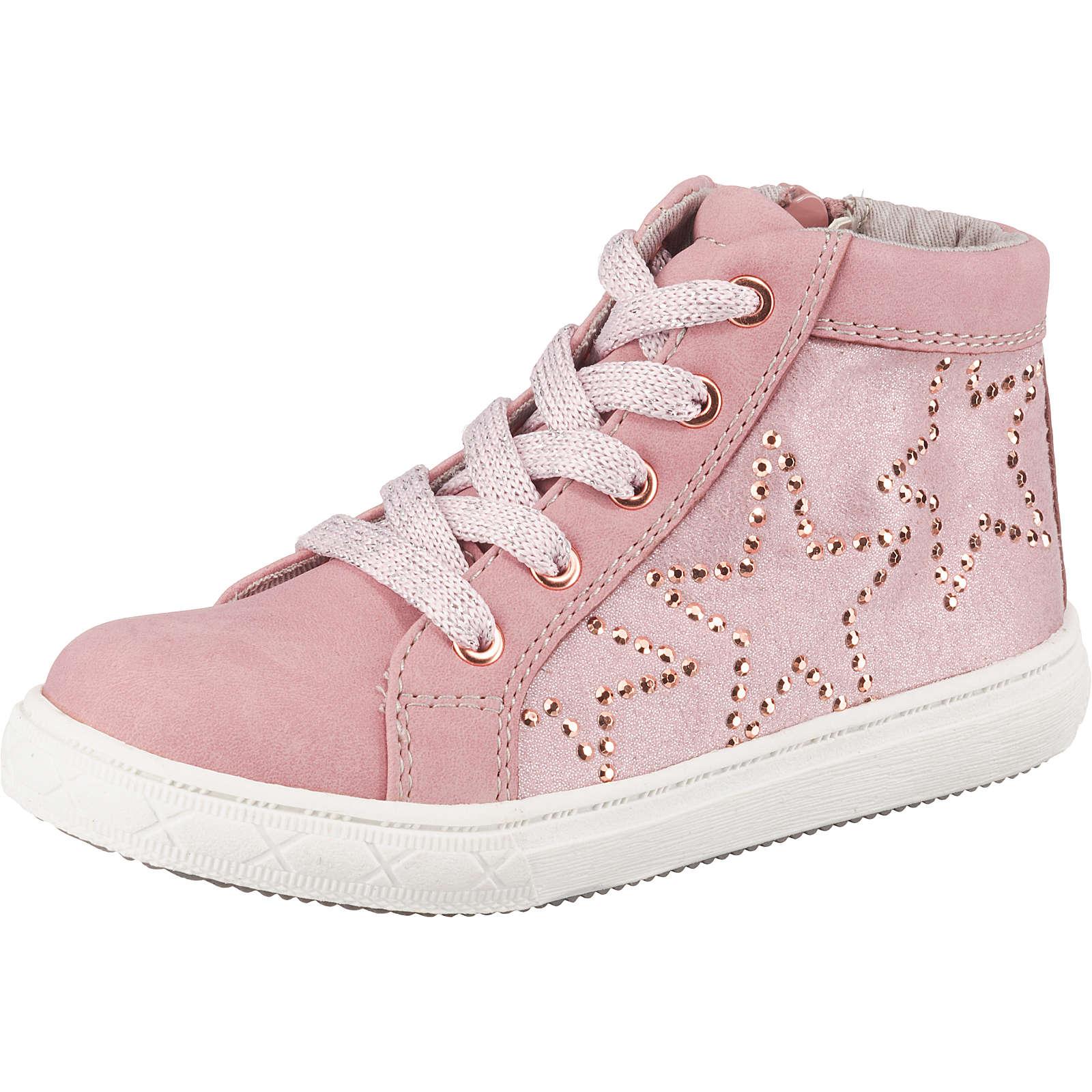 Be Mega Sneakers High für Mädchen rosa Mädchen Gr. 33