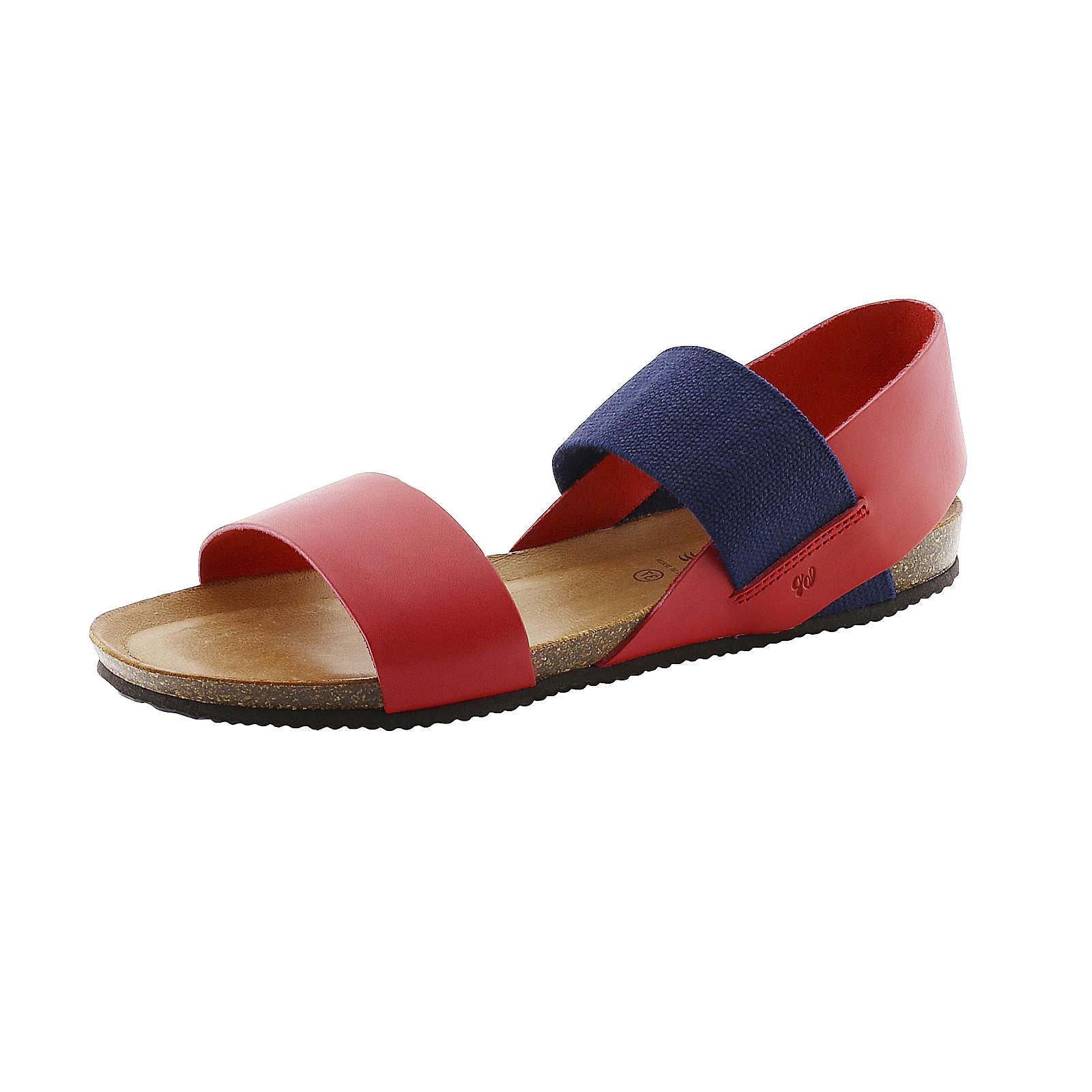Bearpaw Sandalette BIANCA Klassische Sandalen rot Damen Gr. 38