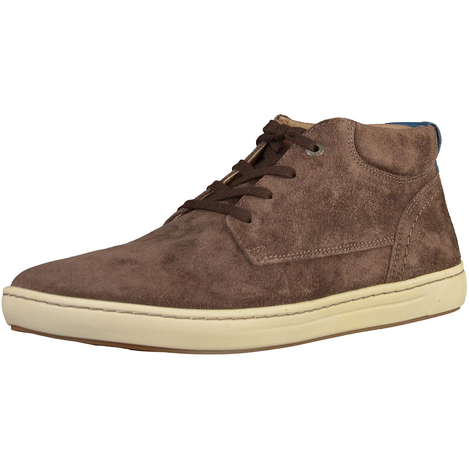 BIRKENSTOCK Bandon Sneakers High dunkelbraun Herren Gr. 40