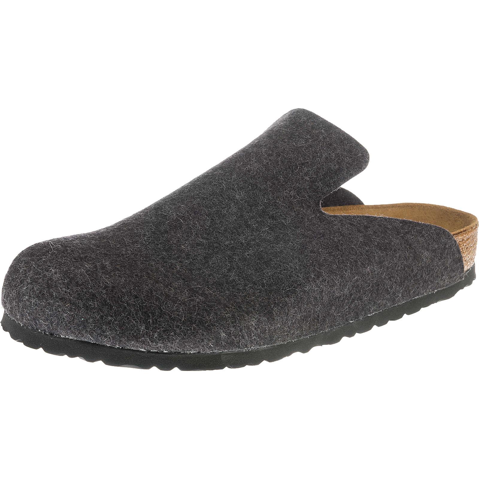 BIRKENSTOCK Davos Pantoffeln anthrazit Herren Gr. 46