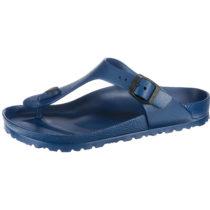 BIRKENSTOCK Gizeh weit EVA Komfort-Pantoletten dunkelblau Damen Gr. 43
