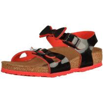 BIRKENSTOCK Sandalen mit Schleife für Mädchen schwarz Mädchen Gr. 32