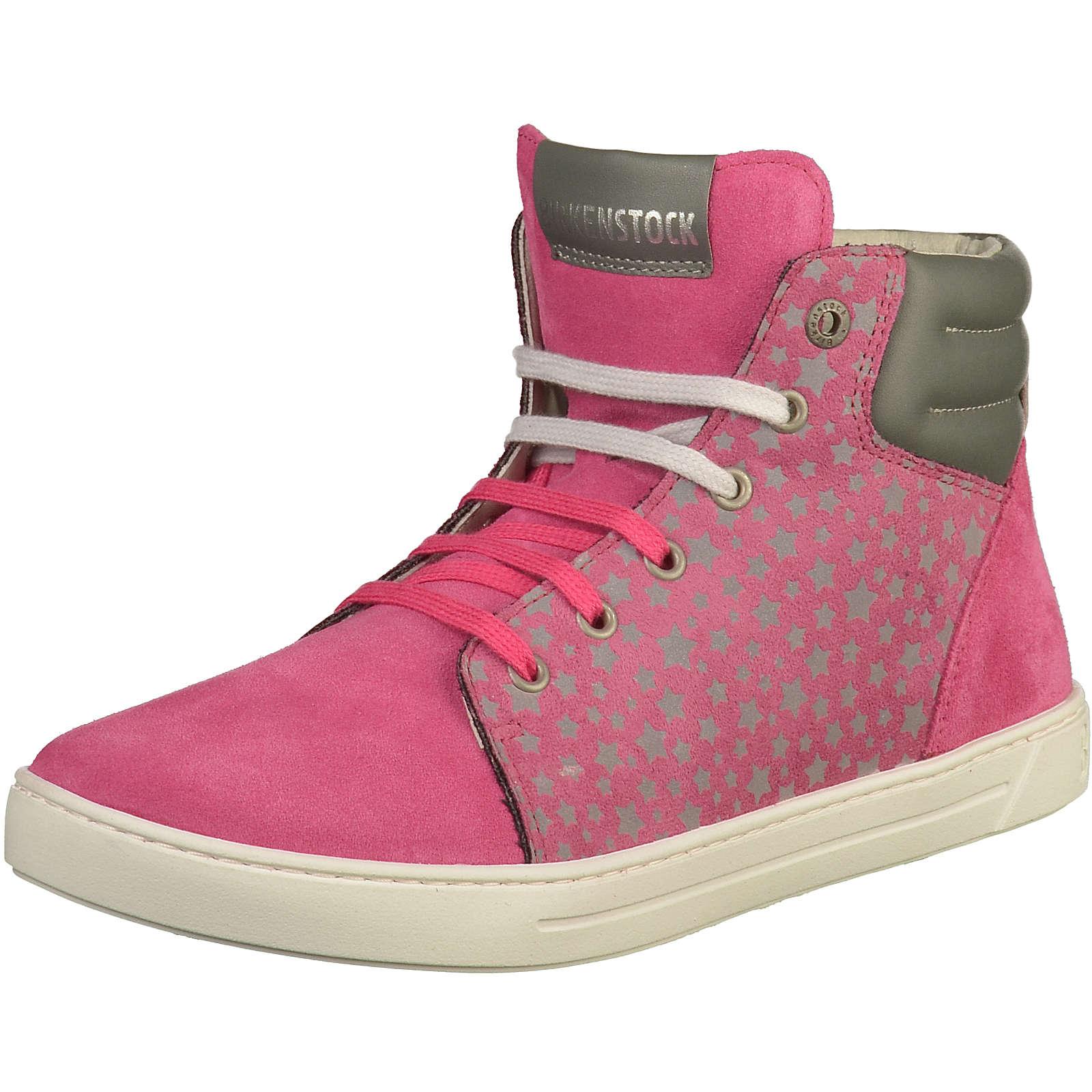 BIRKENSTOCK Sneakers Low für Mädchen fuchsia Mädchen Gr. 35