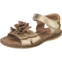 bisgaard Sandalen für Mädchen gold Mädchen Gr. 32