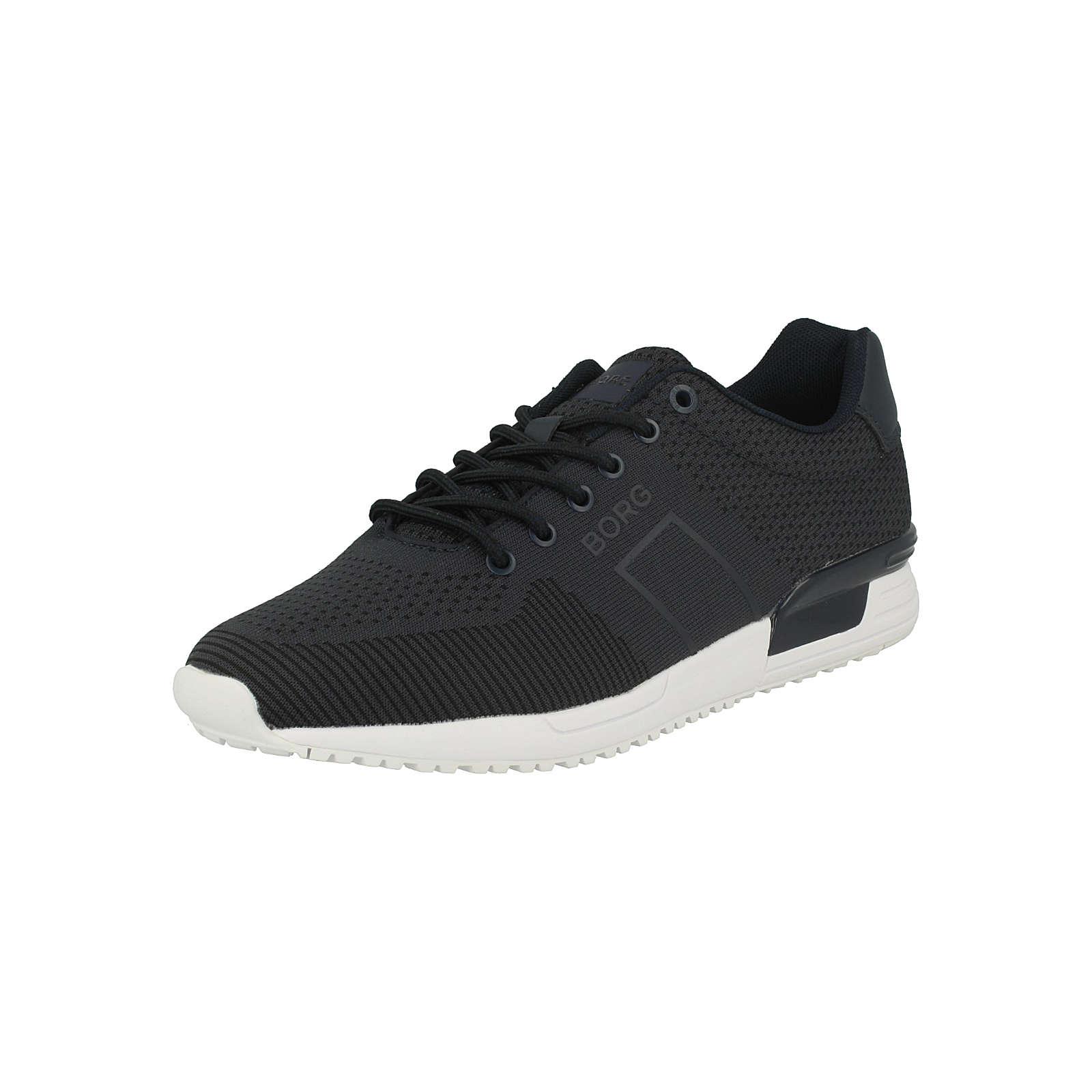 BJÖRN BORG Sneaker R107 LOW KNT Sneakers Low dunkelblau Herren Gr. 40