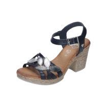 BLK 1978 Damen Sandalette blau Damen Gr. 36