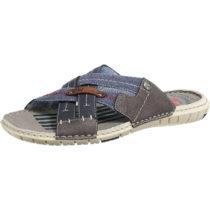 BM Footwear Pantoletten dunkelblau Herren Gr. 41