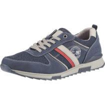 BM Footwear Schnürschuhe dunkelblau Herren Gr. 41