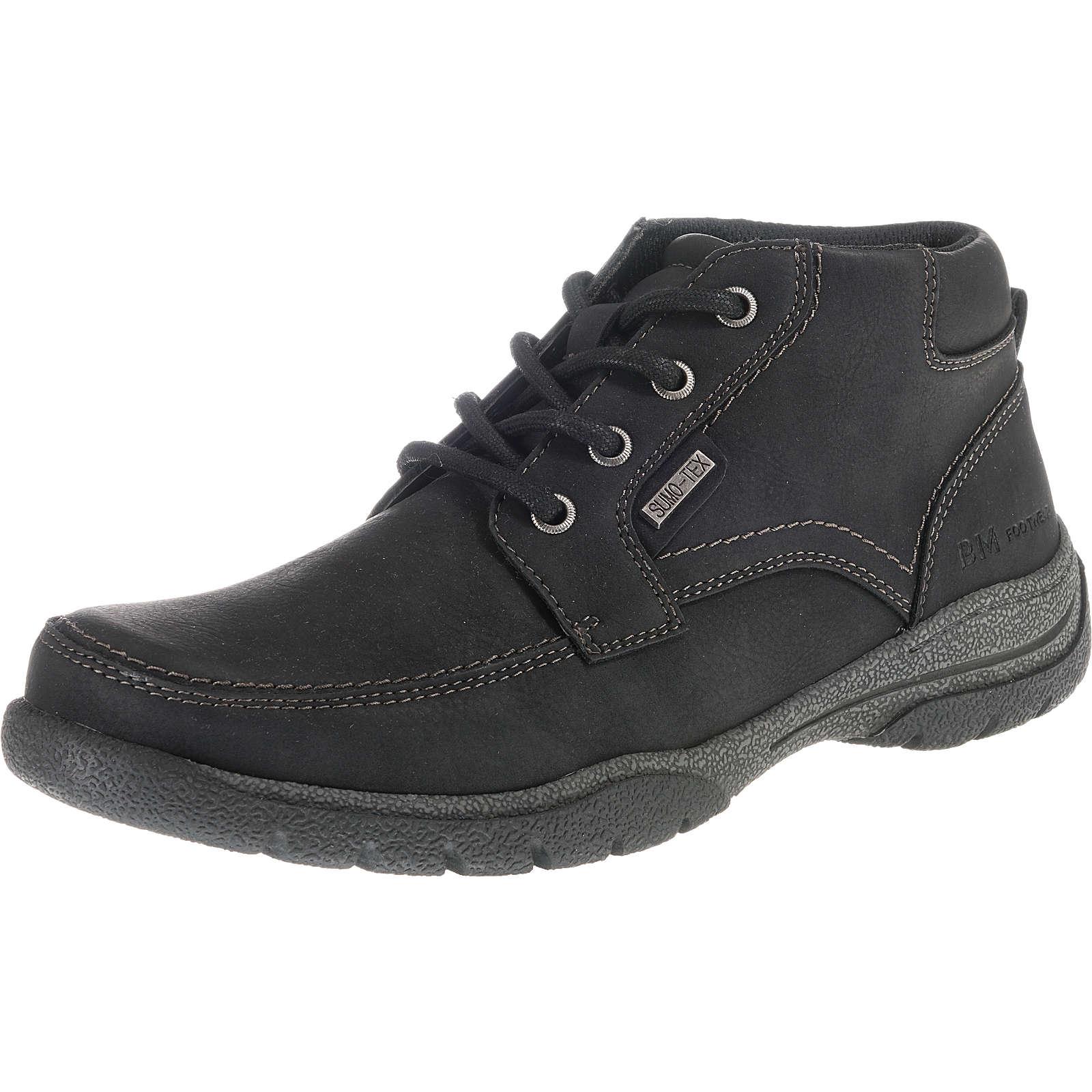 BM Footwear Winterstiefel schwarz Herren Gr. 42