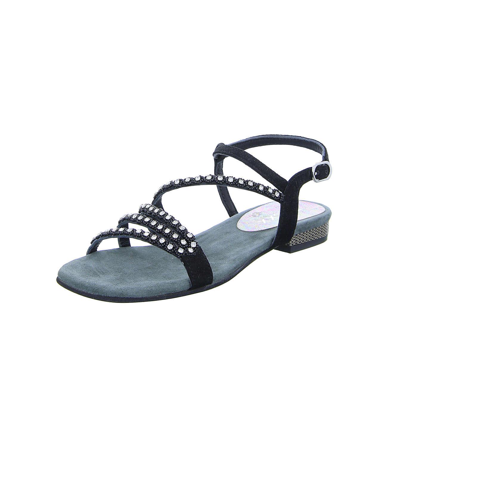 BOXX Damen Sandalette K-12149 schwarz Damen Gr. 40